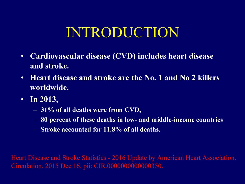Overview of CVD in Bangladesh 22.07.16-1