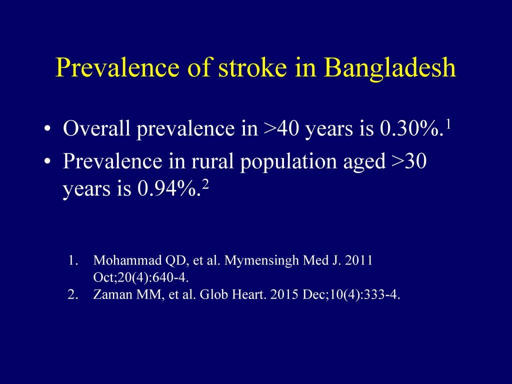 Overview of CVD in Bangladesh 22.07.16-13