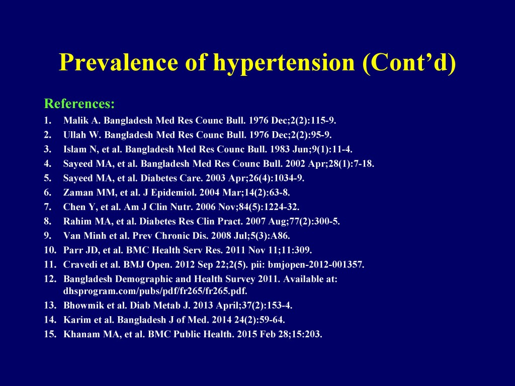 Overview of CVD in Bangladesh 22.07.16-7